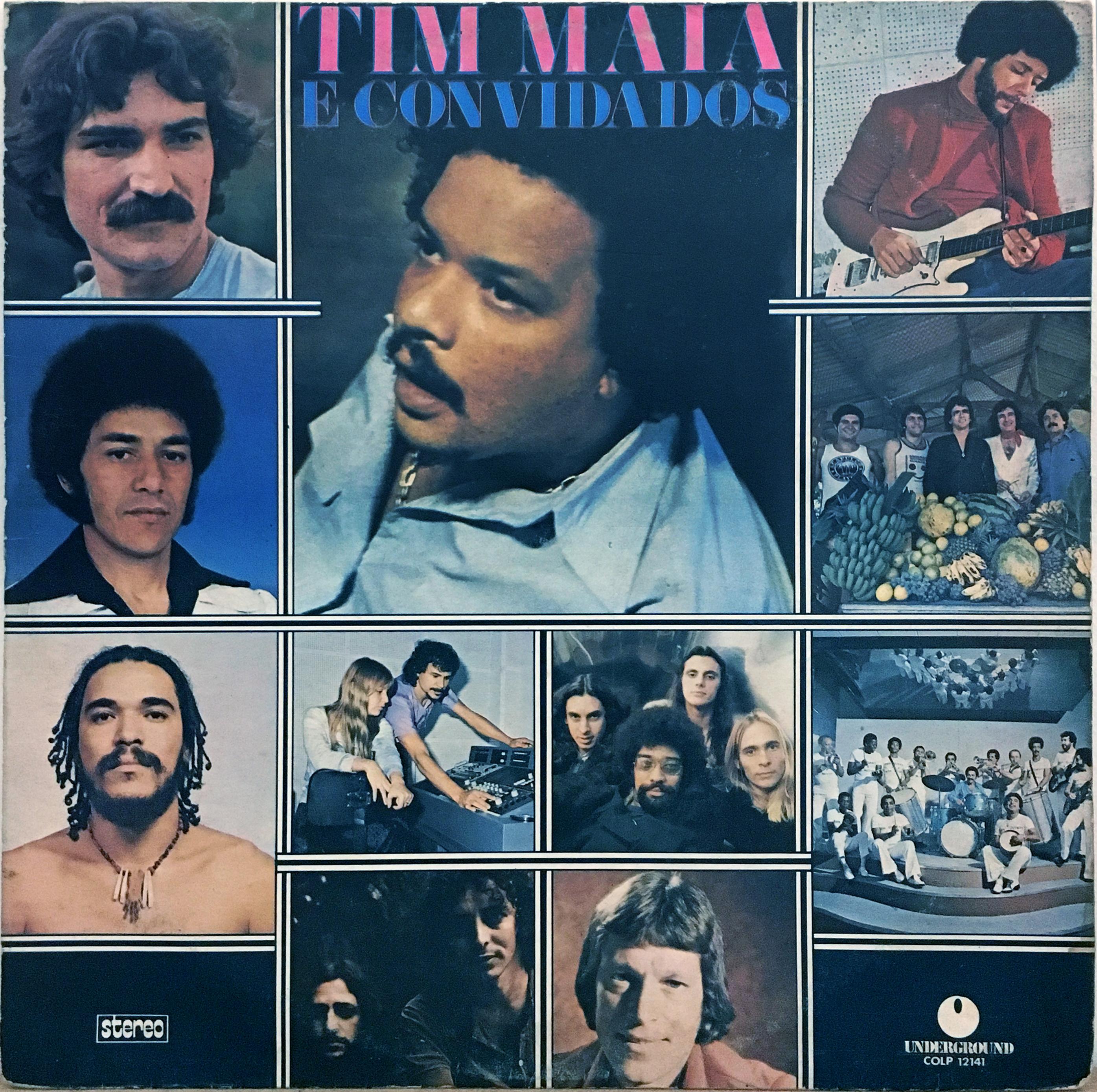 Cover TIM MAIA [Brésil] - Ela Partiu
